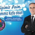 Başkan Görgülüoğlu'ndan Kurban bayramı mesajı
