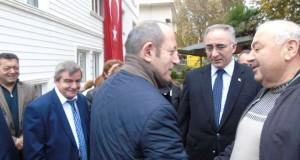 Akif Hamza Çebi'den Belediyemize Ziyaret