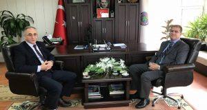 Kaymakam ULUGÖLGE Başkan Görgülüoğlu'nu ziyaret etti.