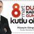 Başkan Görgülüoğlu'ndan 8 Mart Kadınlar günü mesajı !