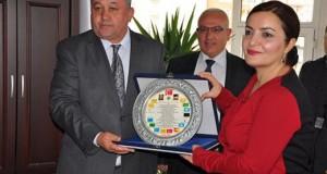 Rektör Prof. Dr. Aygün ATTAR Belediyemizi Ziyaret Etti