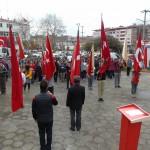18 Mart Canakkle Zaferi, Atatürk Anıtına Celenk Sunma Programından