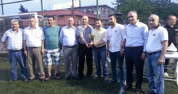 6. Halı Saha Dostluk Kupası Hoşköyspor'un Oldu