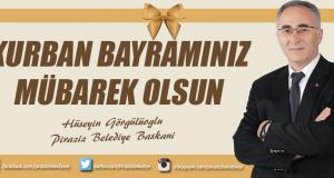 Başkan Görgülüoğlu'ndan kurban bayramı mesajı !