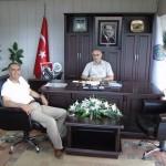 Sayın Mahmut Çuhadar'ın Belediye Başkanımızı Ziyareti