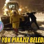 Görgülüoğlu; Problem Yok Piraziz Belediyesi var !